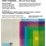 New Counterpoints – After Piazzolla… alte und neue Tangos