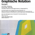 Musik ohne Noten / Graphische Notationen