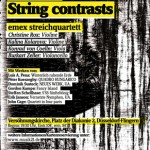 New Counterpoints – String contrasts (e-mex Streichquartett)