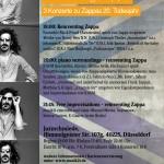 reinventing Zappa (3 Konzerte zu Zappas 20. Todesjahr)